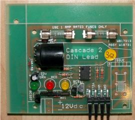 Carver Cascade Water Heater PC Board